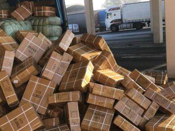 Задържаха български камион с фалшиви стоки за 1 млн. лева на Дунав мост 1