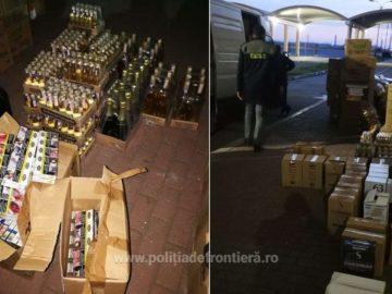 1600 кутии цигари и 283 литра алкохол задържаха на Дунав мост 1