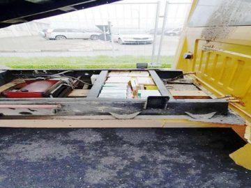 4352 пиротехнически изделия откриха в камион на Дунав мост 1