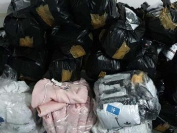 Фалшиви контрабандни стоки за близо 280 000 лева задържаха на Дунав мост 1