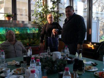 Районният мюфтия на Русе взе участие в работен обяд по покана на кмета на Община Сливо поле Валентин Атанасов