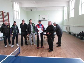 Наградиха победителите в традиционен турнир по тенис на маса в Ценово