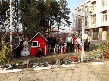 Приказно коледно кътче в центъра на Новград