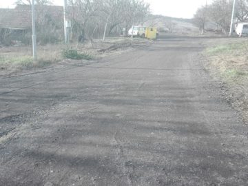 С фрезован асфалт настлаха улици в нова махала на Басарбово