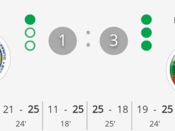 """ВК """"Дунав"""" загуби последния си домакински мач за тази година"""