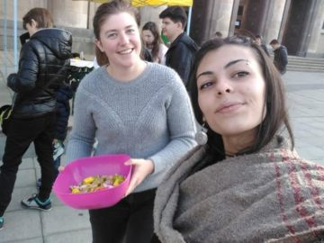 """38 краткосрочни и 4 дългосрочни доброволеца бяха в Русе по проекта """"Стъпка нагоре в твоя живот"""""""