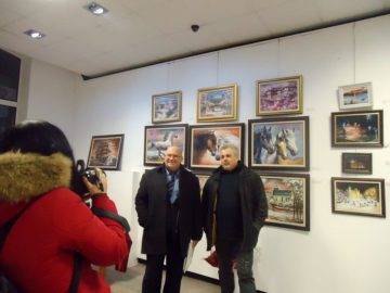 Зам. - кметът Енчев откри Коледно - Новогодишна изложба на Дружеството на художниците