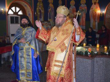 Русенският митрополит Наум отслужи литургия в Каранвърбовския манастир