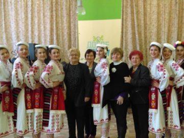 Коледен и Новогодишен концерт за членовете на Българската асоциация на пенсионерите и мъдростта - Русе