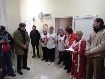 Новогодишно тържество се състоя в кризисната трапезария на БЧК - Русе