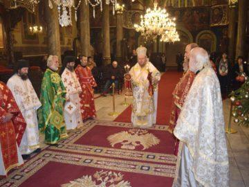 Богослужебна прослава за българския просветител преп. Наум Охридски