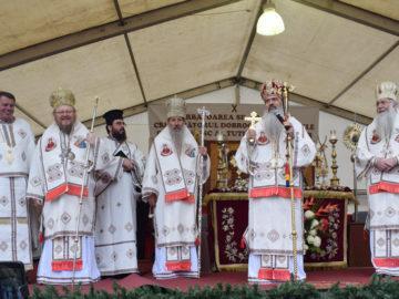 Русенският митрополит Наум гостува в Букурещ за Андреевден