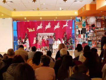Коледен концерт на съставите на Общински младежки дом се провежда в Мол Русе