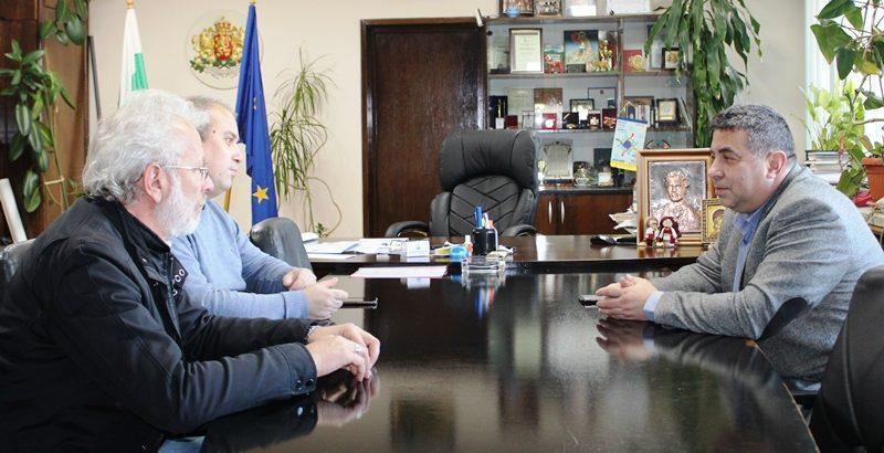 Областният управител обсъди нови възможности за партньорство в културата