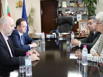 Заместник - кметът на Букурещ Аурелиан Бъдулеску гостува на областния управител