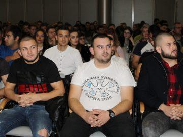 Наградиха отличилите се спортисти на Русенския университет