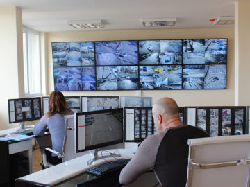 камери трафик русе център за контрол