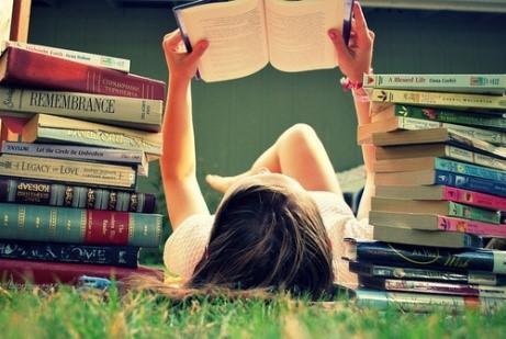 книги четене жена природа
