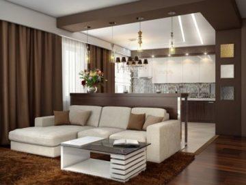стая с тъмен ламинат имоти сиана