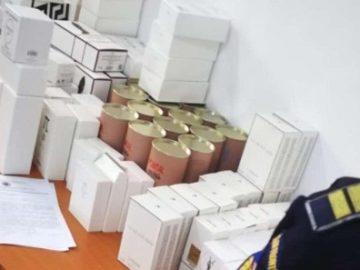 Фалшиви парфюми за 38 хил. лева са задържани на Дунав мост 1