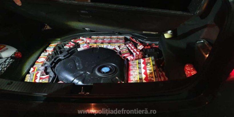 940 пакета контрабандни цигари откриха в български автомобил на Дунав мост 1