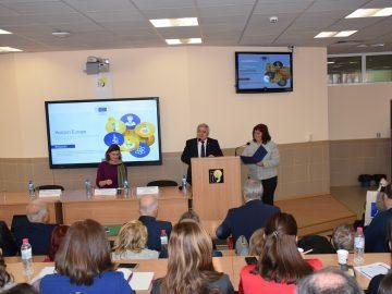 """Русенският университет беше домакин на българо-румънски семинар за новата програма """"Хоризонт Европа"""""""