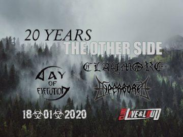 Claymore ще почете 20 - годишнината на The Other Side в София