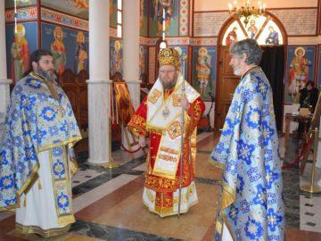 Празнично богослужение в Басарбовския манастир