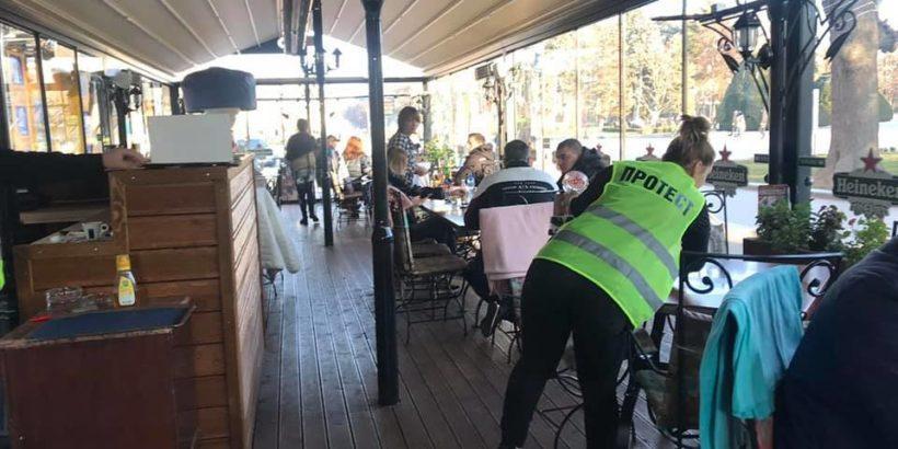 Съюзът на хотелиерите и ресторантьорите в Русе със символичен протест