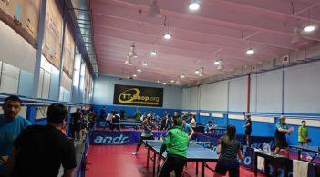 При рекорден брой участници се проведе любителския турнир по тенис на маса за месец януари