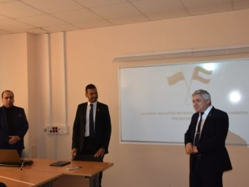 Висши дипломати от посолствата на ОЕА и Кувейт бяха на посещение в Русенския университет