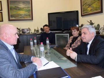 Председателят на Район Тараклия се срещна с ректора на Русенския университет