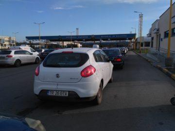 На ГКПП Дунав мост - Русе трафикът е интензивен на вход за леки автомобили