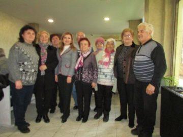 Народният представител Светлана Ангелова поздрави Българската асоциация на пенсионерите и мъдростта по повод Нова година