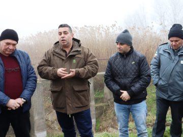 Областният управител провери състоянието на дигите по поречието на Дунав