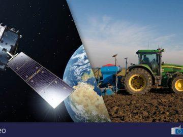 земеделие сателит заснемане
