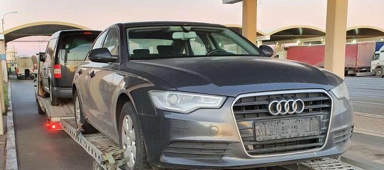 Обявен за издирване във ФРГ автомобил е задържан на Дунав мост 1