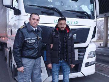 Нелегален мигрант от Палестина е задържан на Дунав мост 1