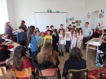 Денят на Левски се превърна в урок по родолюбие за учениците от Ценово