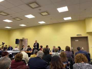 Заместник-кметът Енчо Енчев участва в семинар за финансиране на средното образование в Република България