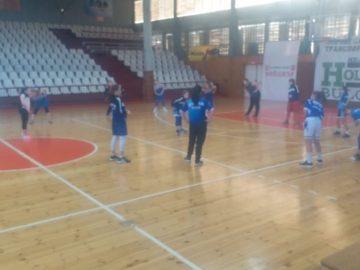 """Момичетата във възрастовата група U12 на СКБ """"Дунав - Русе - 2016"""" с добър старт"""