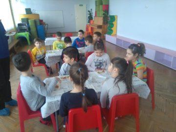 """Арт - кулинария в детска градина """"Червената шапчица"""""""