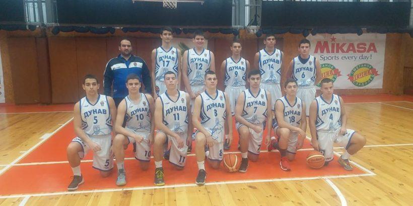 """Победа и загуба за юношите U19 на СК """"Дунав - Русе - 2016"""" днес"""