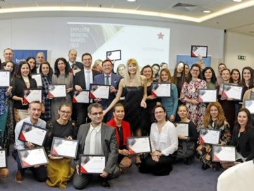 ВИТТЕ Аутомотив България с трета награда от Employer Branding Awards by b2b Media 2020