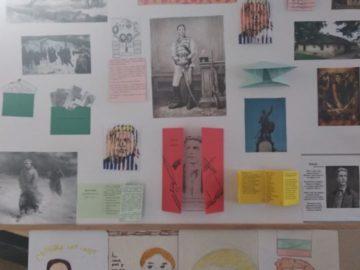 """Учениците от ОУ """"Иван Вазов"""" - Русе посветиха табло на Васил Левски"""