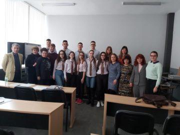 """Впечатляващо участие на ученици от ПГИУ """"Елиас Канети"""" Русе във втори етап от Национално състезание """"Най – добра бизнес идея"""""""