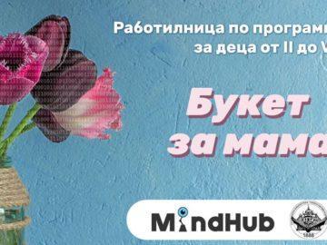 """Работилница по програмиране за деца от 2-ри до 5-и клас на 6 мартв РБ """"Л. Каравелов"""""""