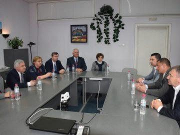 Ректорът на Икономически университет – Варна беше на работно посещение в Русенския университет