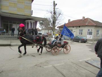 За първи път с дефиле бе честван Трифон Зарезан в Малко Враново