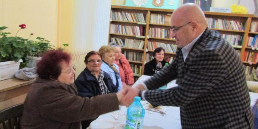 Кметът на Община Сливо поле и екипът му поздравиха самодейците от читалището в Бръшлен по повод 1 март